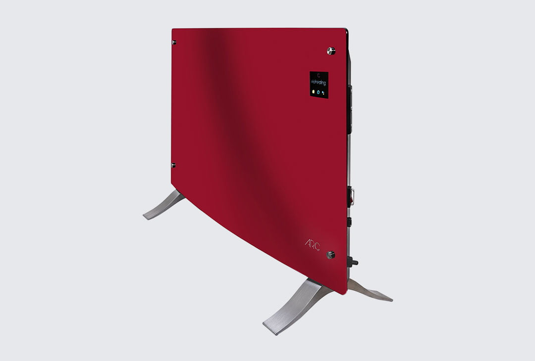 Rio Arc Electric Heater Red